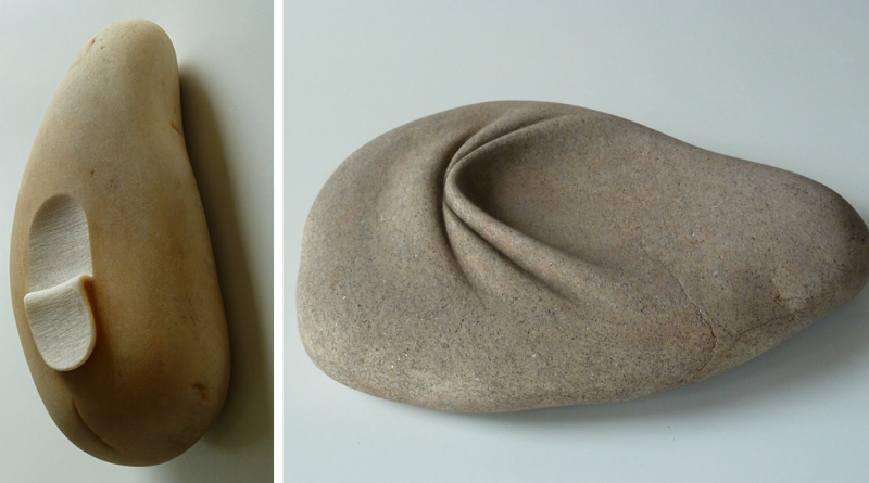 Artist Makes Stones Look Soft By Folding And Twisting Them