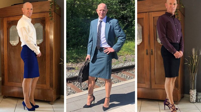 This Guy Is Living Proof That Cloths Have No Gender
