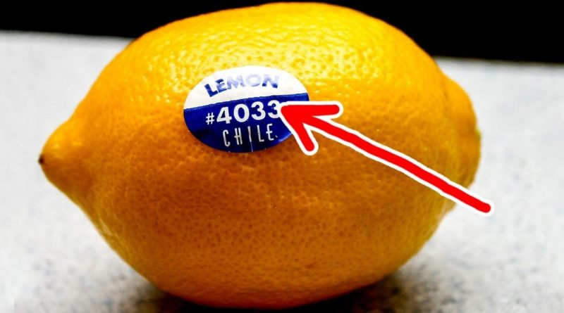Untold Truth Behind Fruit Stickers