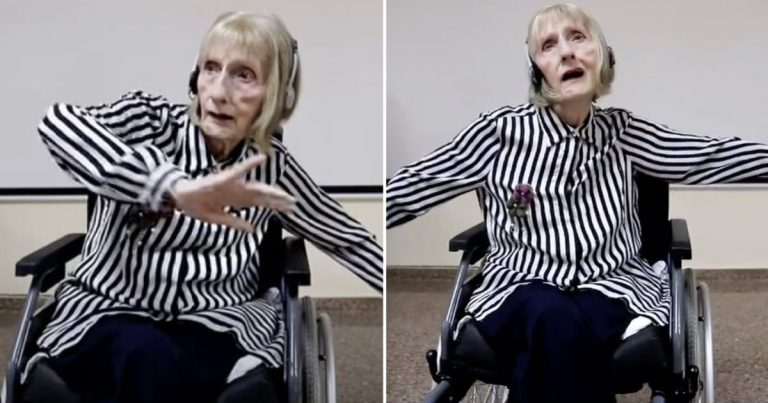Ballerina With Alzheimer's Recalls The Dance For Swan Lake When Hearing The Music
