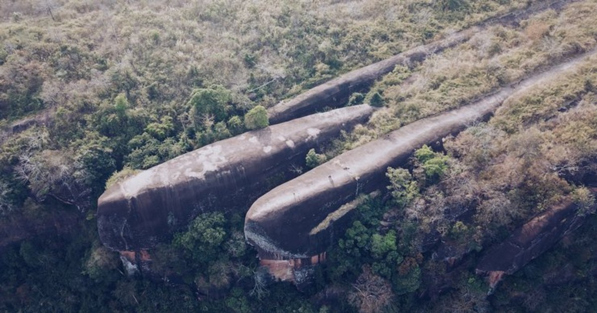 Stunning Rock Formation In Thailand Looks Like A Crashed Spaceship