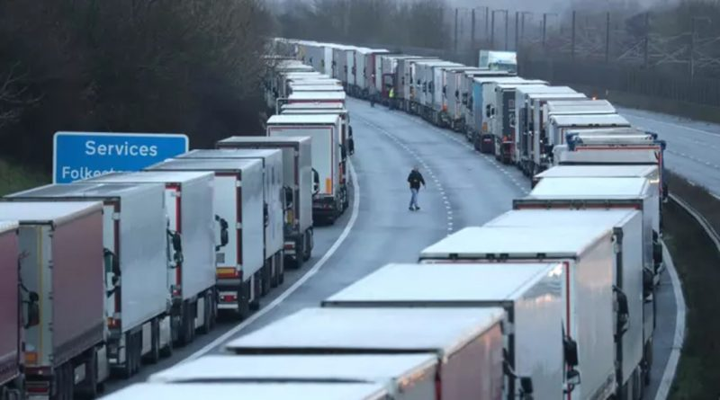 Sikh Community Provides Hundreds Of Meals To Lorry Drivers In Kent