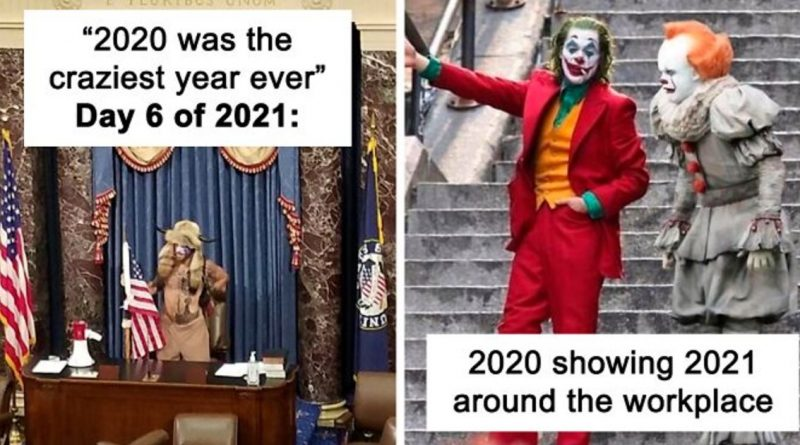 2021 Is Already Disappointing Us, And Here Are 20 Of The Funniest Jokes