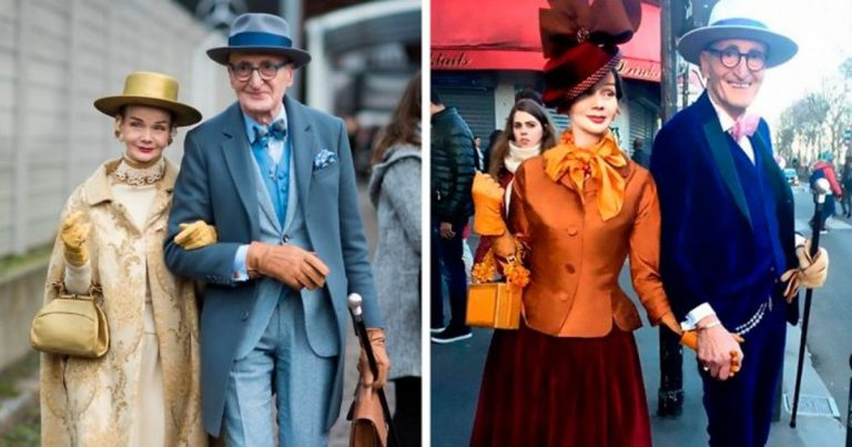 20 Pics Of Elderly German Couple That Steals The Show Whenever They Go Out