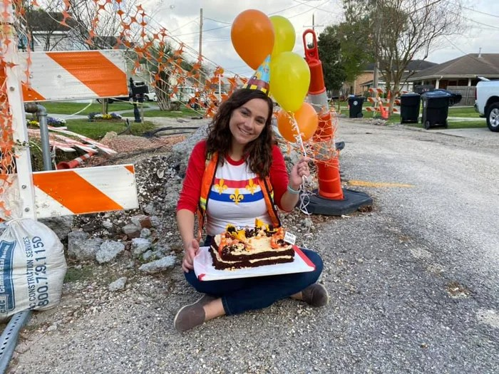 Party for incomplete road work
