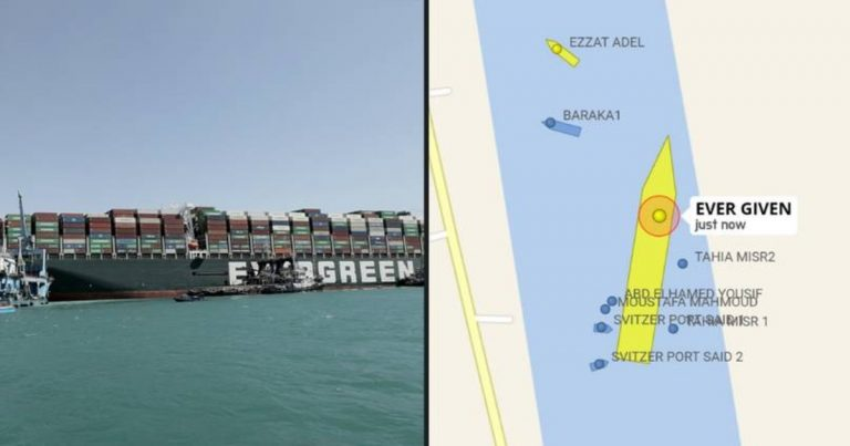 Cargo Ship That Blocked The Suez Canal Has Been Freed