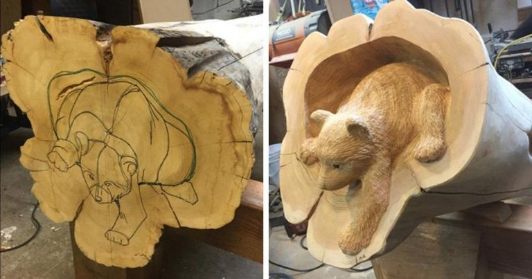 Here Are Some Incredibly Detailed Wooden Animal Sculptures