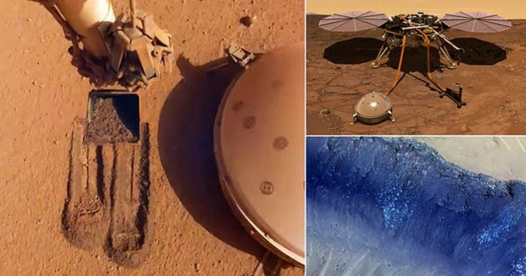 NASA Records Two Mysterious 'Sizeable Quakes' On Mars