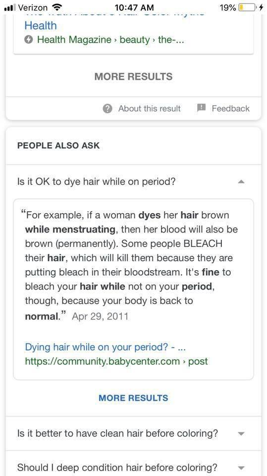 Ridiculous female body facts