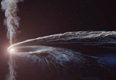 Black Hole Tears A Star To Bits In Epic Animation