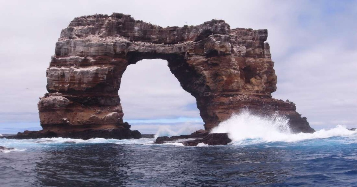 Darwin's Arch At Galapagos Has Collapsed To The Sea