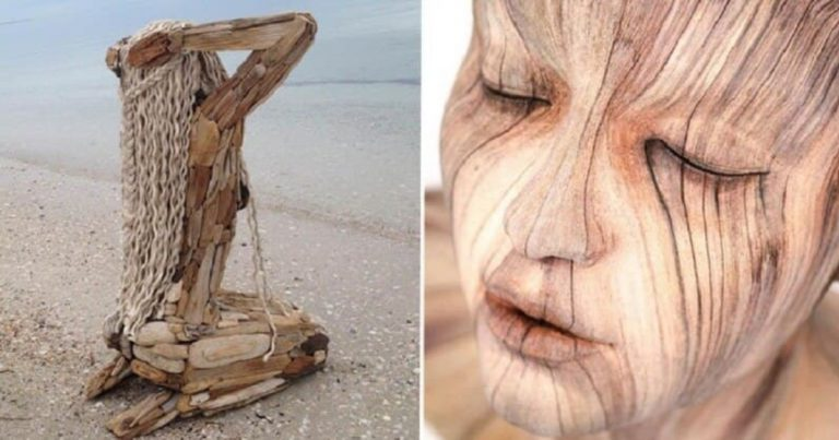 Incredibly Realistic Wooden Sculptures That Will Take Your Breath Away