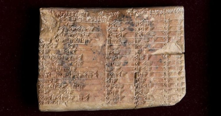 Mathematical Code of 3,700-Year-Old Babylonian Tablet Cracked By Researchers