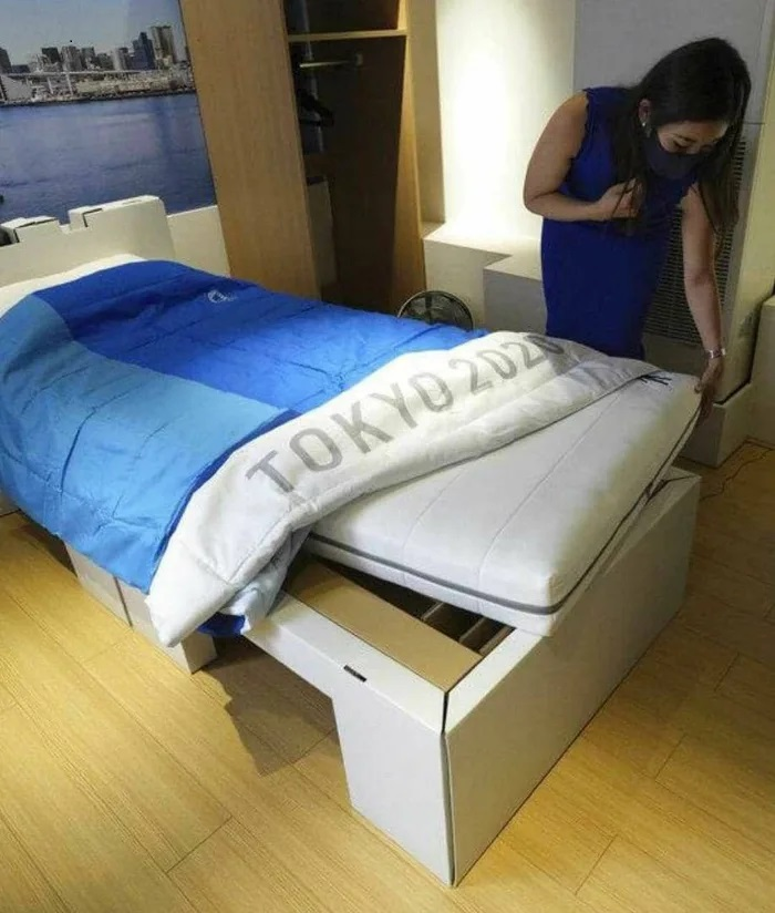 Anti-Sex Beds At The Olympic Village