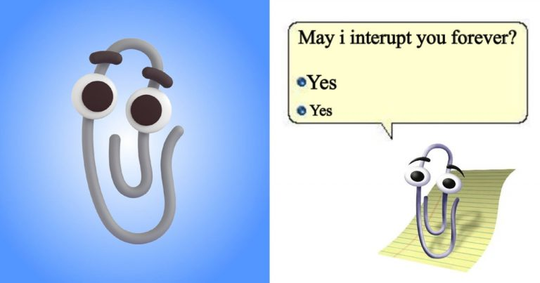 Microsoft's new 3D emoji include Clippy's Ressurection In Office