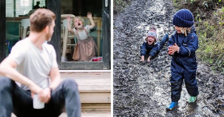 Father Of Four Daughters Posts Funny Yet Realistic Photos On Instagram
