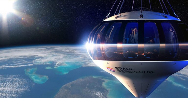 You Can Glide 100,000 Feet Above the Earth In This Luxury Space Balloon