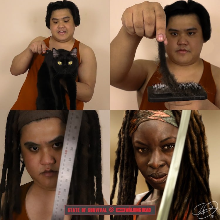 Low cost cosplays